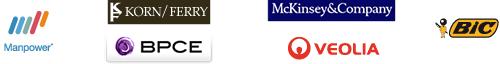 Bic ~ BCPE ~ Korn/Ferry ~ Mckinsey ~ Veolia Environnement - Manpower