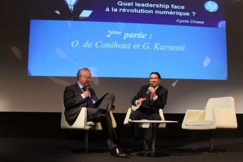 Olivier de Conihout et Gérald Karsenti