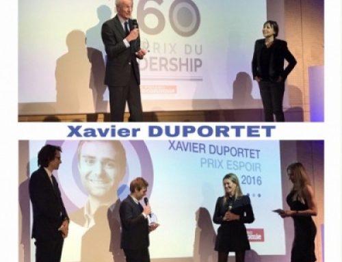Lauréats du Prix du Leadership 2016 : Jean-Dominique Senard et Xavier Duportet