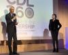 Jean-Dominique Senard, Président du Groupe Michelin et Véronique Morali, Présidente de Fimalac Développement et de Webedia