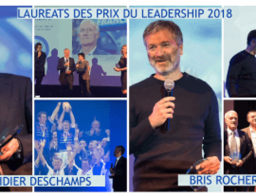 Lauréats du Prix du Leadership 2018 : Didier Deschamps et Bris Rocher