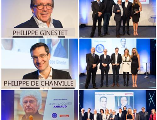 Lauréats du Prix du Leadership 2019 : Philippe Ginestet et Philippe de Chanville
