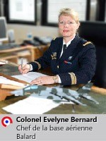 Colonel Evelyne Bernard
