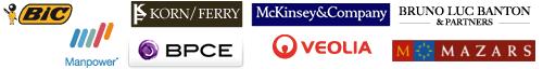 Bic ~ BCPE ~ Korn/Ferry ~ Mckinsey ~ Veolia Environnement - Manpower - Mazars