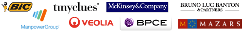 Bic - BCPE - Mckinsey - Tinyclues - Veolia Environnement - Manpower - Mazars