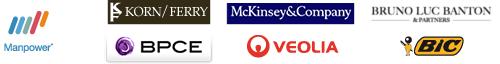 Bic ~ BCPE ~ Korn/Ferry ~ Mckinsey ~ Veolia Environnement ~ Manpower