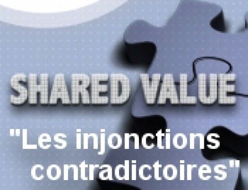 Invitation « Les injonctions contradictoires » : 20 mai 2015