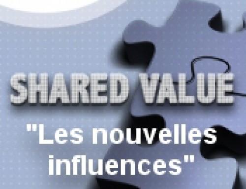 Invitation «Shared Value : les nouvelles influences» : 2 juillet 2015