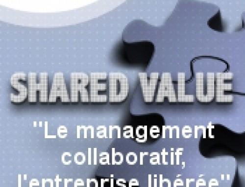 Invitation « Shared Value : le management collaboratif, l'entreprise libérée » : 25 septembre 2015
